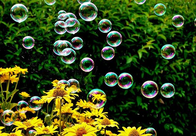 Des bulles pour cultiver sa joie